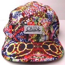 ORIGINAL CHUCK HAT ABSTRACT TIE DYE LOOK VIBRANT COLORS HAT - $16.62