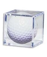 Golf Ball Acrylic Display Case Cube - $2.95