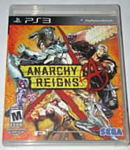 Playstation 3 - SEGA - ANARCHY REIGNS (Complete with Instructions) - $6.75