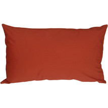Pillow Decor - Caravan Cotton Rust 12x19 Throw Pillow - $19.95