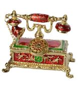 Antique telephone design decoration trinket box   - €29,32 EUR