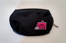 Mary Kay Purse Size Zipper Make Up Pouch Black And Pink Adorable **LOOK** - $14.73