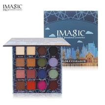 IMAGIC 16 Colors Shimmer Matte Eyeshadow Palette Waterproof Make Up Prof... - $23.55
