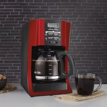 Mr. Coffee Advanced Brew 12 Cup Programmable Red Coffee Maker - $45.99