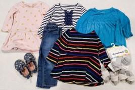 12-18 Months Girls Winter Long Sleeve Shirts / Socks / etc. - $23.75