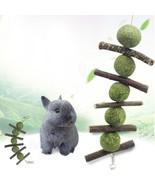 US, CN - Rabbit Bunny Chew Toys Small Pets Teeth Improve Dental Health 1... - $14.63