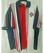 Mens Antigua Texas Rangers Polo Shirt Short Sleeve Golf Shirt Size XXL  - $29.69