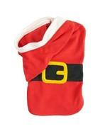 Pet Jammies For Your Families Santa Suit Microfleece Bodysuit - $14.00