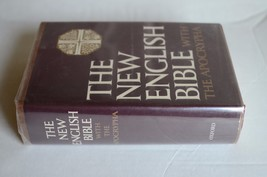 The New English Bible with The Apocrypha 1971 Hardback Oxford University... - $25.74