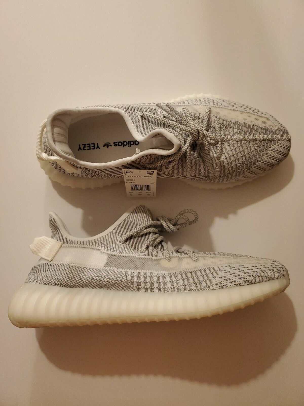 Adidas Yeezy Boost 350 V2 Static EF2905 size 12 non reflective 100% authentic image 2