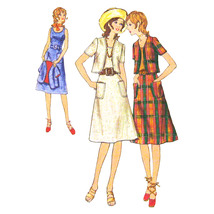 70s Vtg Butterick Sewing Pattern 6227 Misses A-Line Sundress Bolero Jack... - $6.95