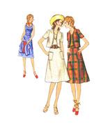 70s Vtg Butterick Sewing Pattern 6227 Misses A-Line Sundress Bolero Jack... - $6.95