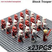 23 PCS/Set Star Wars SHOCK TROOPER Minifigure Bricks Building Blocks Toy... - $29.45