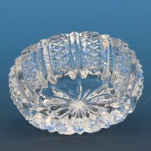Antique EAPG Pressed Glass Open Salt Ducan #42 Mardi Gras Oval image 3