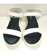 Qupid Women's Sandals Glenn 03, White PU, US 6.5 - $22.76