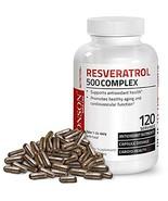 Bronson Resveratrol 500 Complex, 120 Capsules - $15.09