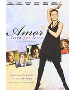 Amor Letra Por Letra [DVD] - $8.94