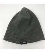 Columbia Knit Beanie Hat Cap Grey Unisex Adult One Size  - $1.97