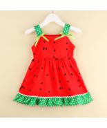 NWT Watermelon Girls Red Sleeveless Ruffle Dress 18M 2T 3T 4T 5T - $10.99