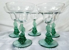 Cristal D'Arques Cactus Siesta Margarita Glasses Set of 5 - $56.00