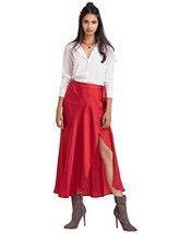 Red Wrap Skirt image 2