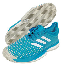 adidas Sole Court Boost Clay Men's Tennis Shoes Blue Racket Racquet NWT ... - $166.38