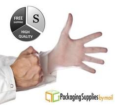 400 Pcs Vinyl Disposable Exam Gloves Powder Free 5 Mil (Non Latex Nitril... - $19.62