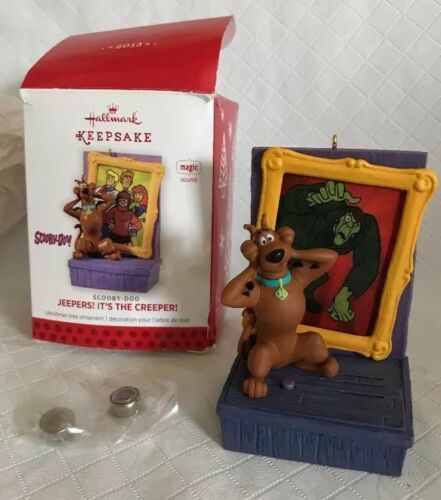 Primary image for Hallmark Keepsake Ornament 2013 Jeepers Creeper Scooby Doo Magic NIB QXI2015