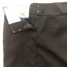 Banana Republic 100 % Wool Pencil Skirt Womens Black Pockets 2 XS Small image 4