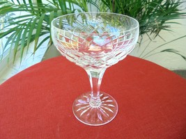 High Quality Clear Crystal Champagne Glass Unknown Maker - $9.90