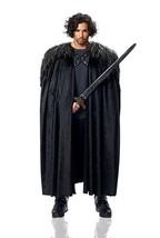 Disfraz Cultura Franco Juego de Tronos Capa Nieve de Jon Disfraz Hallowe... - $42.09