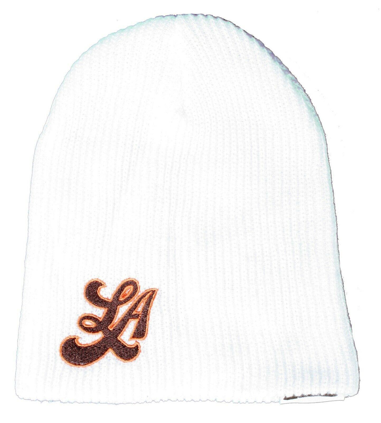 Neff White Snoop Dogg Lion LA Los Angeles Daily Beanie Winter Hat W11030 NWT