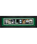 Illinois Wesleyan University Officially Licensed Framed Campus Letter Art - $39.95