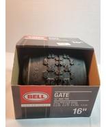 "Bell Gate 16"" BMX Tire BLACK fits x 1.75 1.90 1.95 2.00 2.10 2.125 2.25 - $18.00"