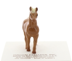 Hagen-Renaker Miniature Ceramic Horse Figurine Tiny Chestnut Mare Stallion Colt image 8