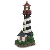 35719B  Solar Power Resin Lighthouse Garden Decor Yard Art - $42.65