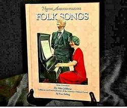North American Folklore FOLK SONGS Book AA19-1378 image 1