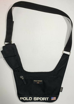 Vintage Polo Sport Cross Body Shoulder Strap Satchel Bag Spell Out Ralph... - $44.05
