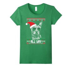 Sleigh all Day Funny Australian Cattle Dog Christmas T-Shirt - $19.99+