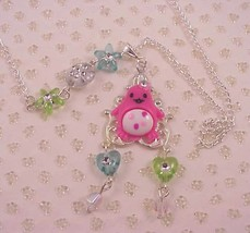 Pink Penguin Silver Necklace  - $19.95