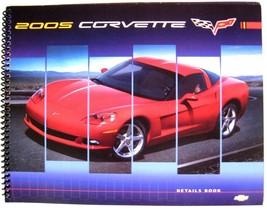 2005 Chevy Corvette Original Dealer Data Details Book, Spiral Bound, GM 05 - $24.73