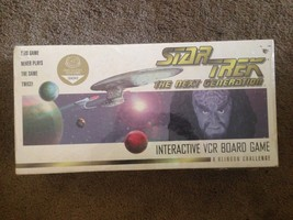Star Trek : The Next Generation - Interactive VCR Board Game - Paramount... - $34.65