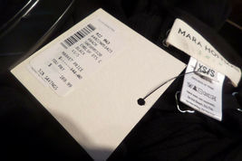 $348 MARA HOFFMAN ANTHROPOLOGIE BEADED BLACK LONG CAFTAN DRESS SIZE XS/S image 7