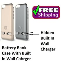 Battery External Power bank Case Cover with Charger For iPhone 6 6s 4.7 - £11.34 GBP