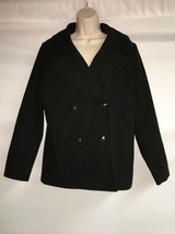 Express Peacoat Black Medium Womens Jacket Coat NWT $128 - $41.61