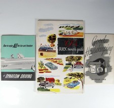 1951 Buick Car Owners Guide Special 40 Super 50 Roadmaster 70 Manual Plus Extras - $23.33