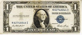 SERIES 1935 E       ONE DOLLAR SILVER CERTIFICATE==GOOD  CONDITION - $2.66