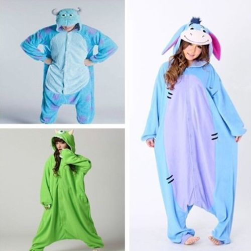 Fashio New Mens/Women Jumpsuit Pyjama Animal Sleepwear Kigurumi Pyjamas Cosply - $18.99