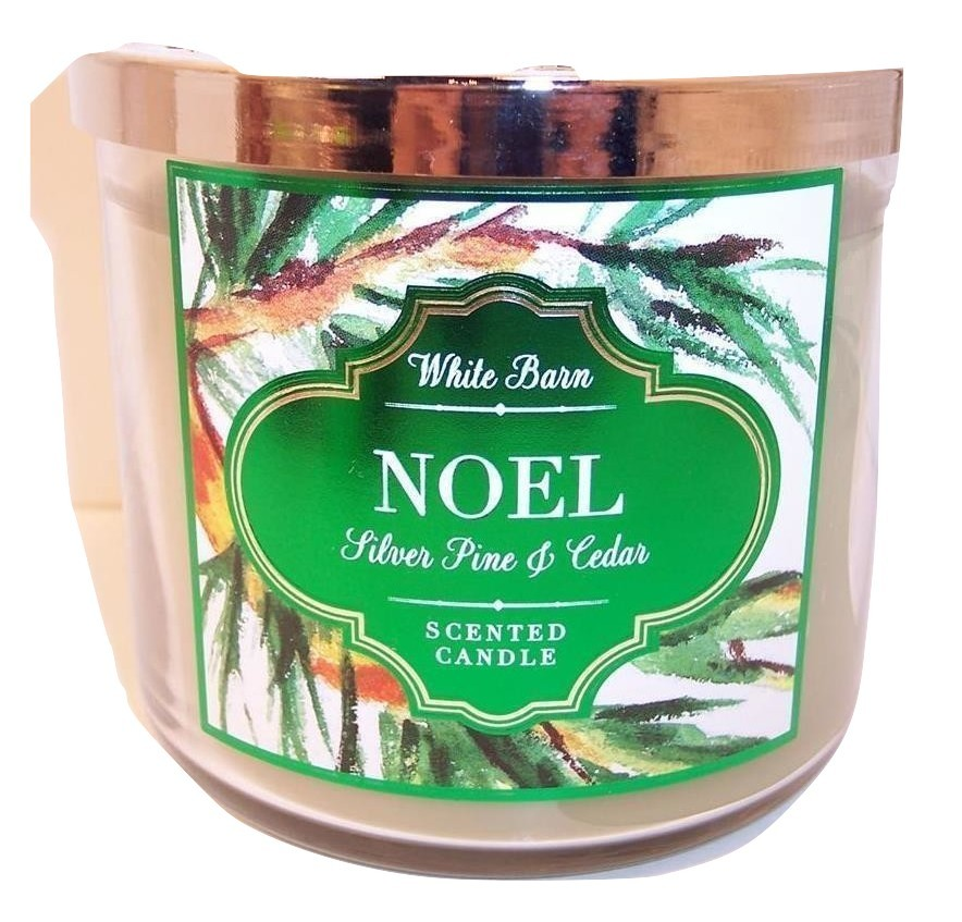 Primary image for Bath & Body Works 3 wick 14.5 oz Candle   Silver Pine & Cedar  Noel