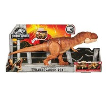 Jurassic World Thrash 'n Throw Tyrannosaurus Rex Figure - $99.99
